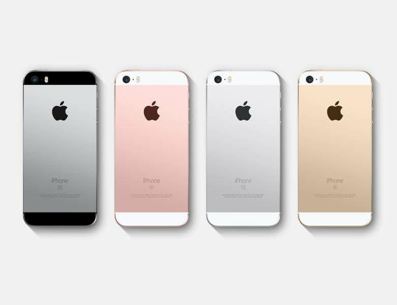 iPhone SE színválaszték