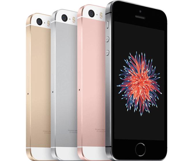 iPhone SE szín változatok