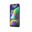 Samsung Galaxy M21 M215 Dual Sim 64GB  fekete, kártyafüggetlen, 1 év Gyártói garancia