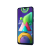 Samsung Galaxy M21 M215 Dual Sim 64GB  kék, kártyafüggetlen, 1 év Gyártói garancia
