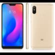 Xiaomi Mi A2 Lite 4GB 64GB Dual SIM (B20), arany, Kártyafüggetlen, 1 év teljes körű garancia
