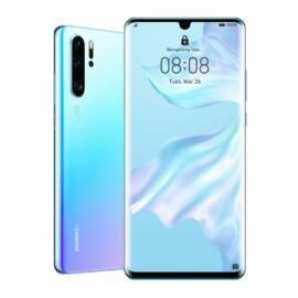 Huawei P30 Pro 128GB Dual SIM, jégkristály kék, Kártyafüggetlen, 2 év Gyártói garancia