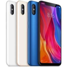 Xiaomi Mi 8, Dual SIM (B20), 6GB 64GB , fehér, Kártyafüggetlen, 1 év teljes körű garancia