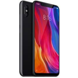 Xiaomi Mi 8, Dual SIM (B20), 6GB 128GB , fekete, Kártyafüggetlen, 1 év teljes körű garancia