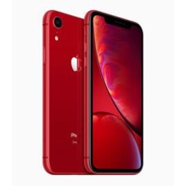 Apple iPhone XR 128GB piros, Kártyafüggetlen