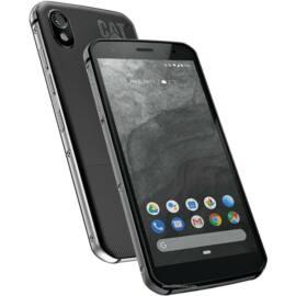 Caterpillar S52 64GB Dual SIM, fekete, Kártyafüggetlen, 1 év Gyártói garancia