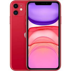 Apple Iphone 11 64GB piros, kártyafüggetlen