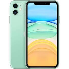 Apple Iphone 11 128GB zöld, kártyafüggetlen, 1 év gyártói garancia