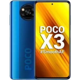 Xiaomi Poco X3 64GB Dual SIM (B20), kék, Kártyafüggetlen, 1 év teljes körű garancia