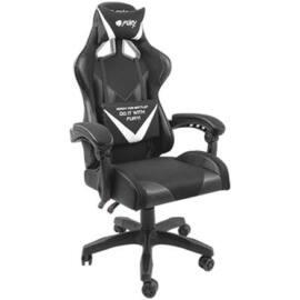 Fury Avenger L Gamer szék, fekete-fehér