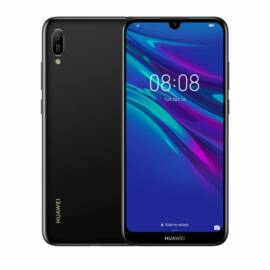 Huawei Y6 (2019) 32GB Dual SIM, fekete, Kártyafüggetlen,2 év Gyártói garancia