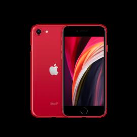 Apple iPhone SE 2020 128GB piros, kártyafüggetlen, 1 év Gyártói garancia