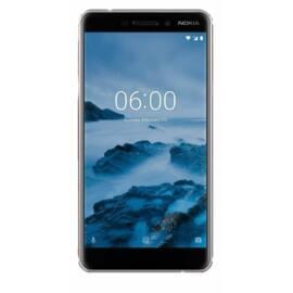 Nokia 6.1 32GB Dual SIM, fehér, Kártyafüggetlen, 1 év teljes körű garancia