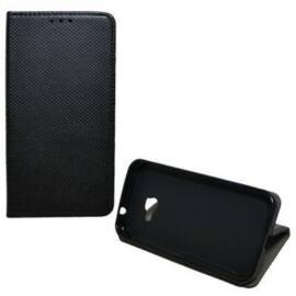 Magnet oldalra nyíló flip tok, Xiaomi Redmi Note 7, fekete