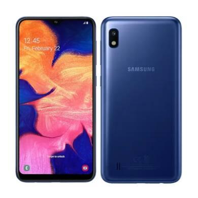 Samsung A10 A105 2GB Ram 32GB Dual, kék, Kártyafüggetlen, 1 év gyártói garancia