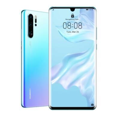 Huawei P30 Pro 256GB Dual SIM, jégkristály kék, Kártyafüggetlen, 2 év Gyártói garancia