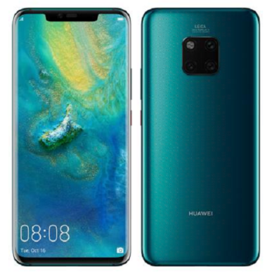 Huawei Mate 20 Pro 128GB Dual SIM, zöld, Kártyafüggetlen,2 év Gyártói garancia