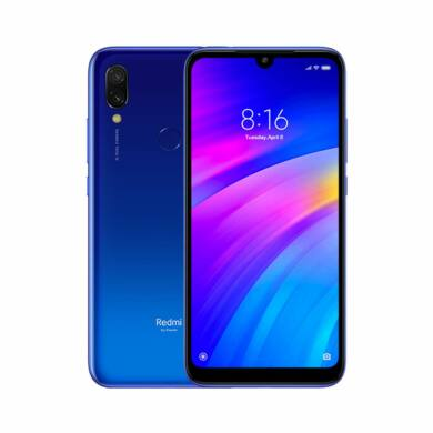 Xiaomi Redmi 7 3GB 64GB Dual SIM (B20), kék, Kártyafüggetlen, 1 év garancia