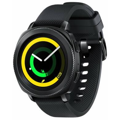 Samsung Gear Sport S3 R600, fekete, 1 év gyártói garancia