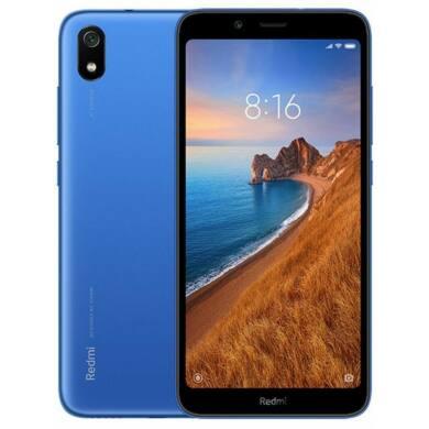 Xiaomi Redmi 7A 2GB 16GB Dual SIM (B20), kék, Kártyafüggetlen, 1 év garancia
