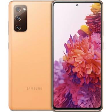 Samsung Galaxy G781B S20 FE 5G 128GB Dual Sim, ködös narancssárga, Kártyafüggetlen, 1 év gyártói garancia
