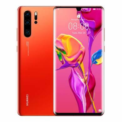 Huawei P30 128GB Dual SIm napkelte narancs, Kártyafüggetlen, 2 év Gyártói garancia