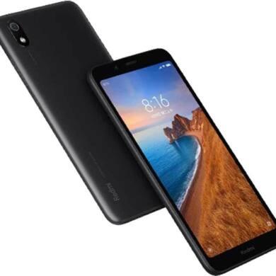 Xiaomi Redmi 7A 2GB 16GB Dual SIM (B20), fekete, Kártyafüggetlen, 1 év garancia
