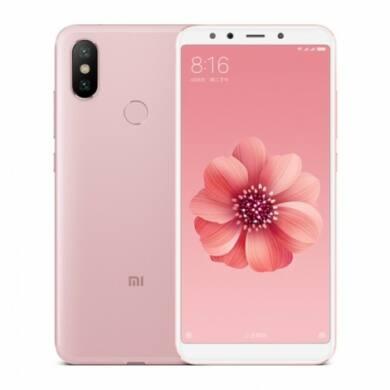 Xiaomi Mi A2 4GB 64GB Dual SIM (B20), rosé arany, Kártyafüggetlen, 1 év teljes körű garancia
