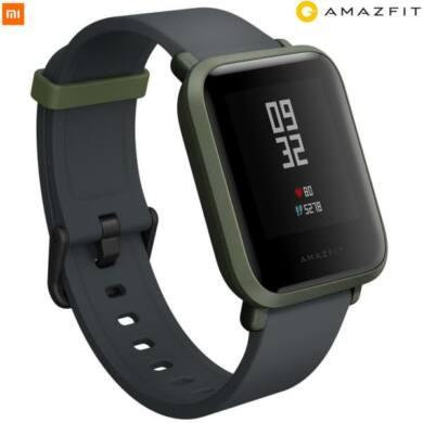 Xiaomi Amazfit Bip fitnesz óra, fekete