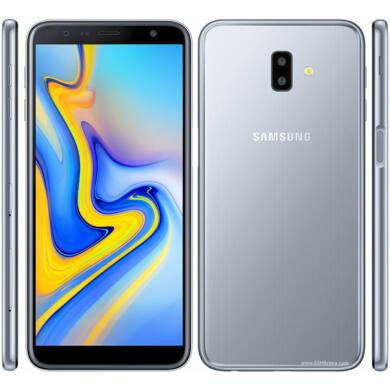 Samsung J610F Galaxy J6 Plus (2018) 32GB Dual Sim, szürke, Kártyafüggetlen, 1 év Gyártói garancia