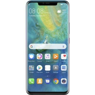 Huawei Mate 20 Pro 128GB, fekete, Kártyafüggetlen,2 év Gyártói garancia