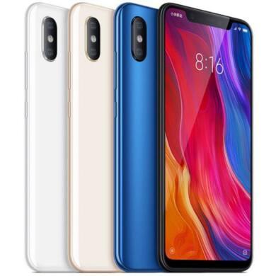 Xiaomi Mi 8, Dual SIM (B20), 6GB 128GB , fehér, Kártyafüggetlen, 1 év teljes körű garancia