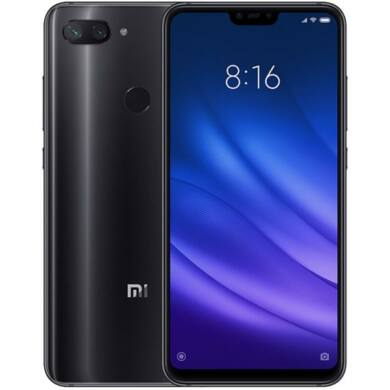 Xiaomi Mi 8 Lite, Dual SIM (B20), 4GB 64GB , fekete, Kártyafüggetlen, 1 év teljes körű garancia