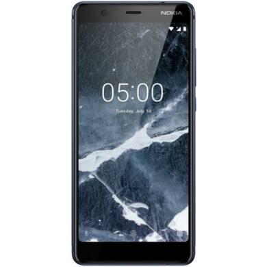 Nokia 5.1 16GB Dual Sim, kék, kártyafüggetlen, 1 év Gyártói garancia