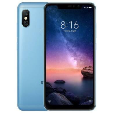 Xiaomi Redmi  Note 6 Pro 3GB 32GB Dual SIM (B20), kék, Kártyafüggetlen, 1 év teljes körű garancia