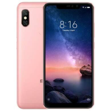 Xiaomi Redmi  Note 6 Pro 3GB 32GB Dual SIM (B20), rózsaszín, Kártyafüggetlen, 1 év teljes körű garancia