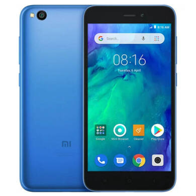Xiaomi Redmi Go 1GB 8GB Dual SIM (B20), kék, Kártyafüggetlen, 1 év teljes körű garancia