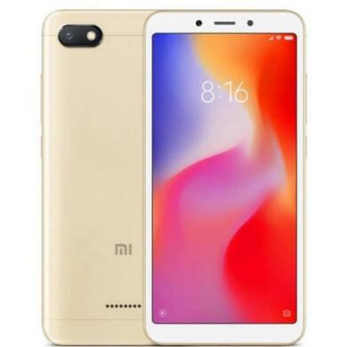 Xiaomi Redmi 6A 2GB 32GB Dual SIM (B20), arany, Kártyafüggetlen, 1 év teljes körű garancia