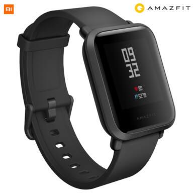 Xiaomi Amazfit Bip S fitnesz óra, fekete, 1 év garancia