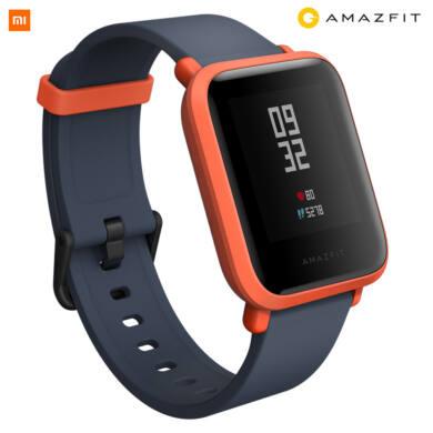 Xiaomi Amazfit Bip fitnesz óra, narancs