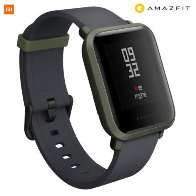 Xiaomi Amazfit Bip fitnesz óra, zöld