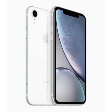 Apple iPhone XR 128GB fehér, Kártyafüggetlen, 1 év Gyártói garancia