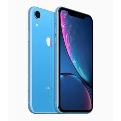 Apple iPhone XR 128GB kék, Kártyafüggetlen, 1 év Gyártói garancia