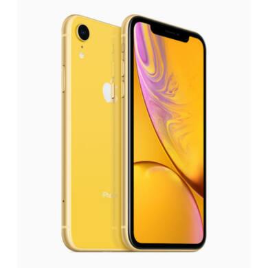 Apple iPhone XR 64GB sárga, Kártyafüggetlen, 1 év Gyártói garancia