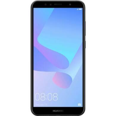 Huawei Y6 (2018) 16GB Dual SIM, kék, Kártyafüggetlen,2 év Gyártói garancia