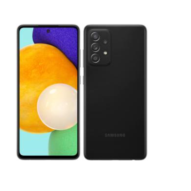 Samsung A526 Galaxy A52 5G Dual Sim 128GB, fekete, kártyafüggetlen