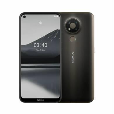 Nokia 3.4 64GB Dual SIM, szürke, Kártyafüggetlen