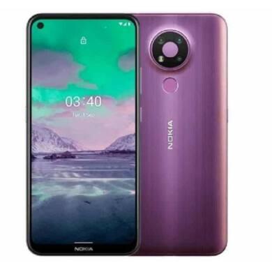 Nokia 5.4 128GB 4GB Dual Sim, lila, Kártyafüggetlen