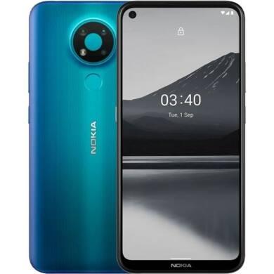 Nokia 5.4 128GB 4GB Dual Sim, kék, Kártyafüggetlen