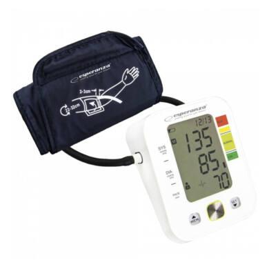 Esperanza Vierve felkaros vérnyomásmérő, fehér (ECB003)